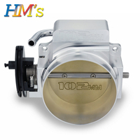 New 102mm Throttle Body For LS1 LS2 LS3 LS6 LSX Aluminum Throttle Body 102mm Silver Throttle body Black