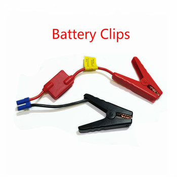 Connector Emergency Jumper Cable Clamp Booster Battery Clips For Universal 12v Car Jump Starter image