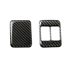 Image 1 - For Toyota 86 Subaru BRZ 2013 2014 2015 2016 2017 Carbon Fiber Seat Heating Button Frame Cover