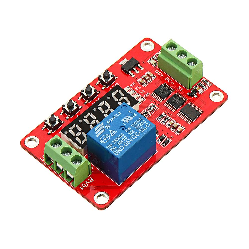 Circuit With Indicator Led Delayed Lock Out Circuit Pujt Voltage