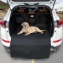 Dog Car Trunk Mat Hammock Boot Pet Seat Cover Barrier Protect Floor Non-slip Foldable Waterproof Dirt Resistant Rear Seat
