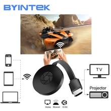 BYINTEK BD X4 WiFi HD Doogle,สำหรับ AirPlay Miracast สมาร์ทโฟน Netflix Hulu,ตัวรับสัญญาณไร้สายเครื่องรับสัญญาณทีวี Dongle