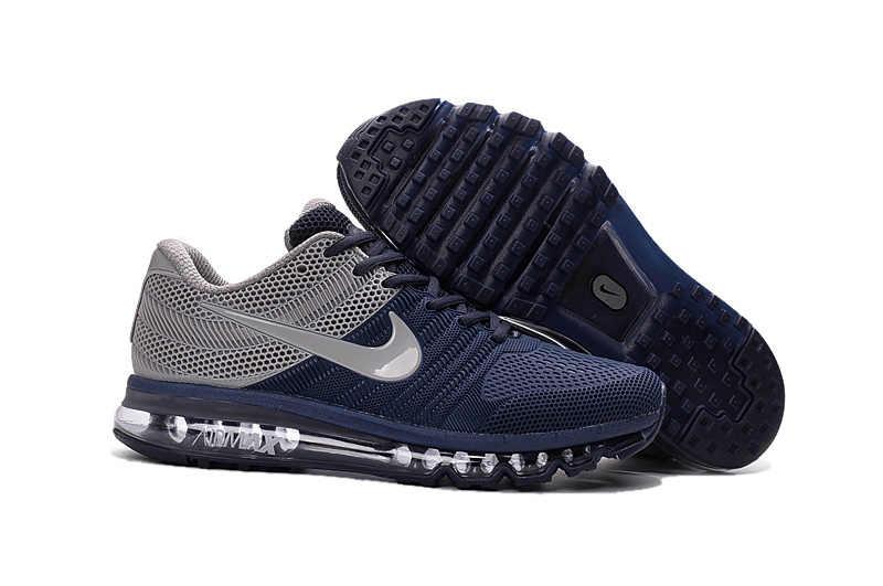 e92a76ab1e1 ... Hot Sale NIKE Air MAX 2017 Nike Running shoes full palm nano Disu  technology Sports Men ...