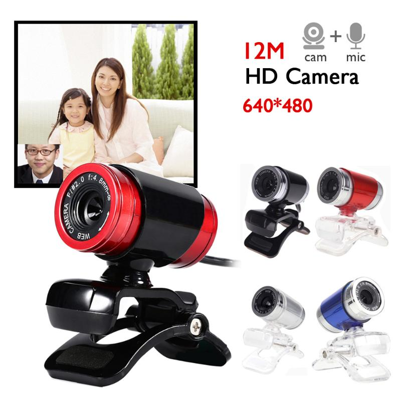 High Quality Computer Camera Desktop USB 12MP HD Webcam Computer Camera For PC Windows XP / Win2003 / Win7 / Win8 / Win10