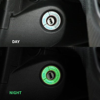 Mój dobry samochód pierścień na stacyjkę luminous dekoracje samochodu stylizacji dla Peugeot 408 308 301 508 2008 3008 4008 akcesoria samochodowe