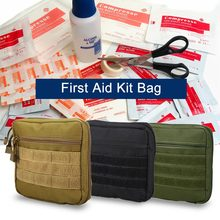First Aid Kit Empty Medical Molle Bag Emergency Survival Pouch Medicine Storage Bag Pack Travel Camping Hiking First Aid Bag(China)