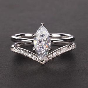 Image 4 - Pansysen 100% Authentieke 925 Sterling Zilver Mariquesa Vorm Natuurlijke Amethist Ringen Voor Vrouwen Wedding Anniversary Gemstone Ring