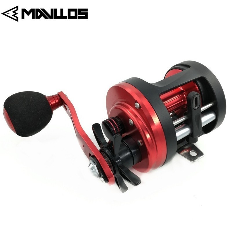 Mavllos Ratio 4.7:1 Boat Round Fishing Casting Reel Max Drag 6K  Single EVA Knob Handle Saltwater Drum Fishing Reel CoilMavllos Ratio 4.7:1 Boat Round Fishing Casting Reel Max Drag 6K  Single EVA Knob Handle Saltwater Drum Fishing Reel Coil