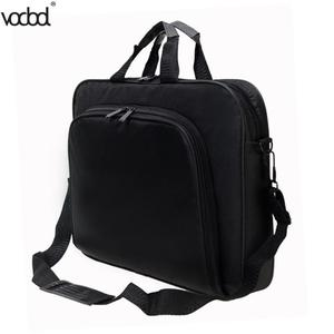 Image 4 - VODOOL Laptop Bag Computer Bag Business Portable Nylon Computer Handbags Zipper Shoulder Laptop Shoulder Handbag High Quality