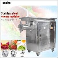 XEOLEO Commercial Meat Grinder Meat mincer Stainless steel Meat mincer 1500W Automatic 32# Slicer for Kitchen 400kg/h 110V/220V