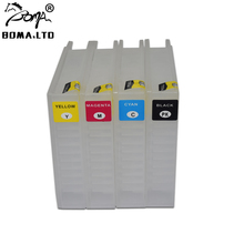 5 Sets/Lot IC93 Refill Ink Cartridge For Epson M7050F M7050FP PX-M7050 PX-S7050 With Peranment Chip