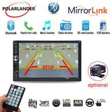 автомагнитола 7 «hd-навигатор для автомобиля 2 DIN Авторадио плеер MP5 Зеркало Ссылка Bluetooth USB SD AUX в 13 язык сенсорный экран дл