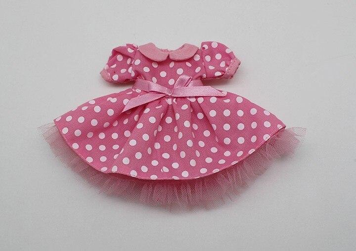 Neo Blythe Doll Polka Dot Princess Dress 2