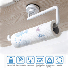 Towel Rack Hanging Holder Kitchen Organizer Solid Tissue Door Back Hanger Sponge Storage for Bathroom
