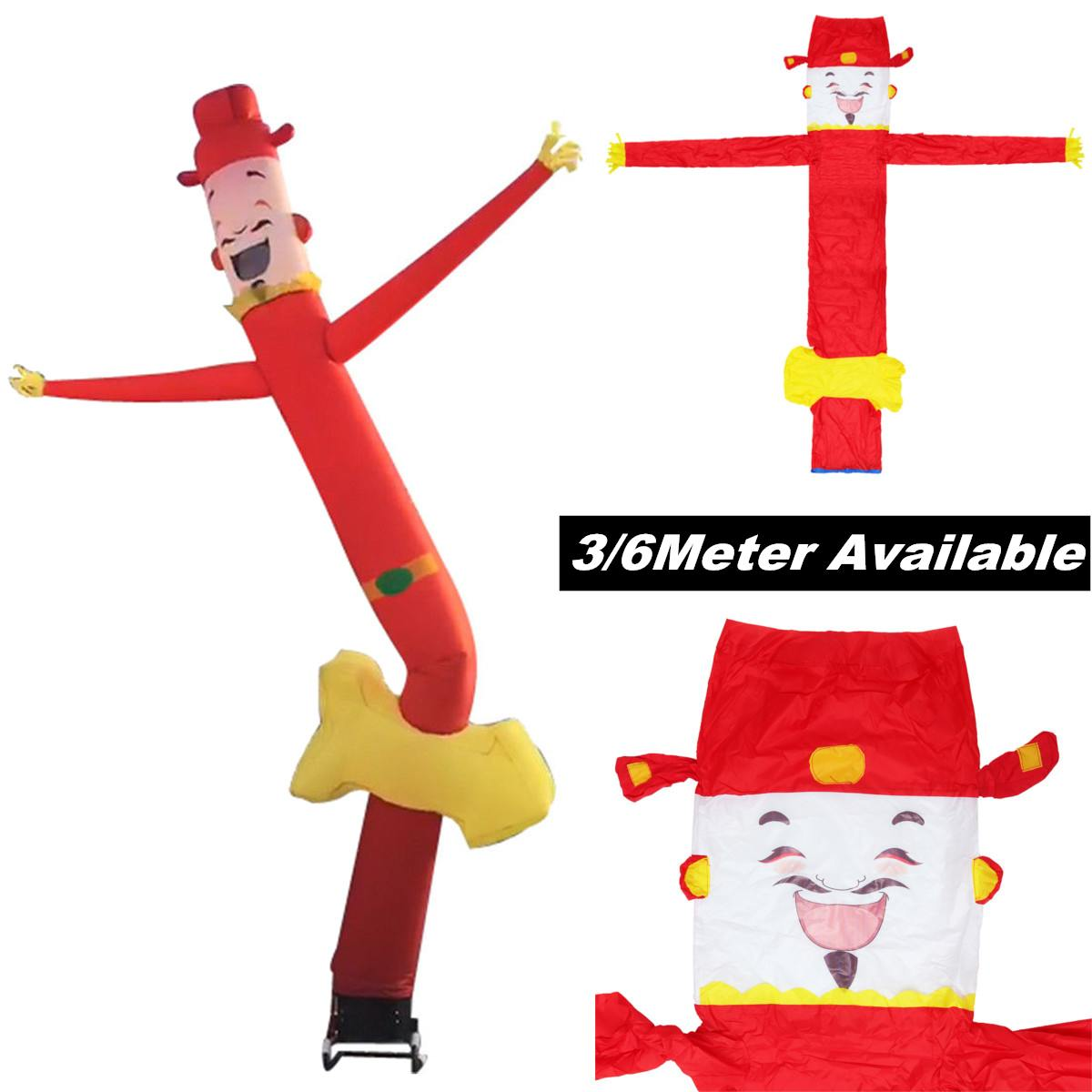 Air Wind Blower Puppet Inflatable Sky Flag Wavy Man Festivals Carnivals Model Toys 3/6 Meters Outdoor Fun Toys AdvertisingAir Wind Blower Puppet Inflatable Sky Flag Wavy Man Festivals Carnivals Model Toys 3/6 Meters Outdoor Fun Toys Advertising