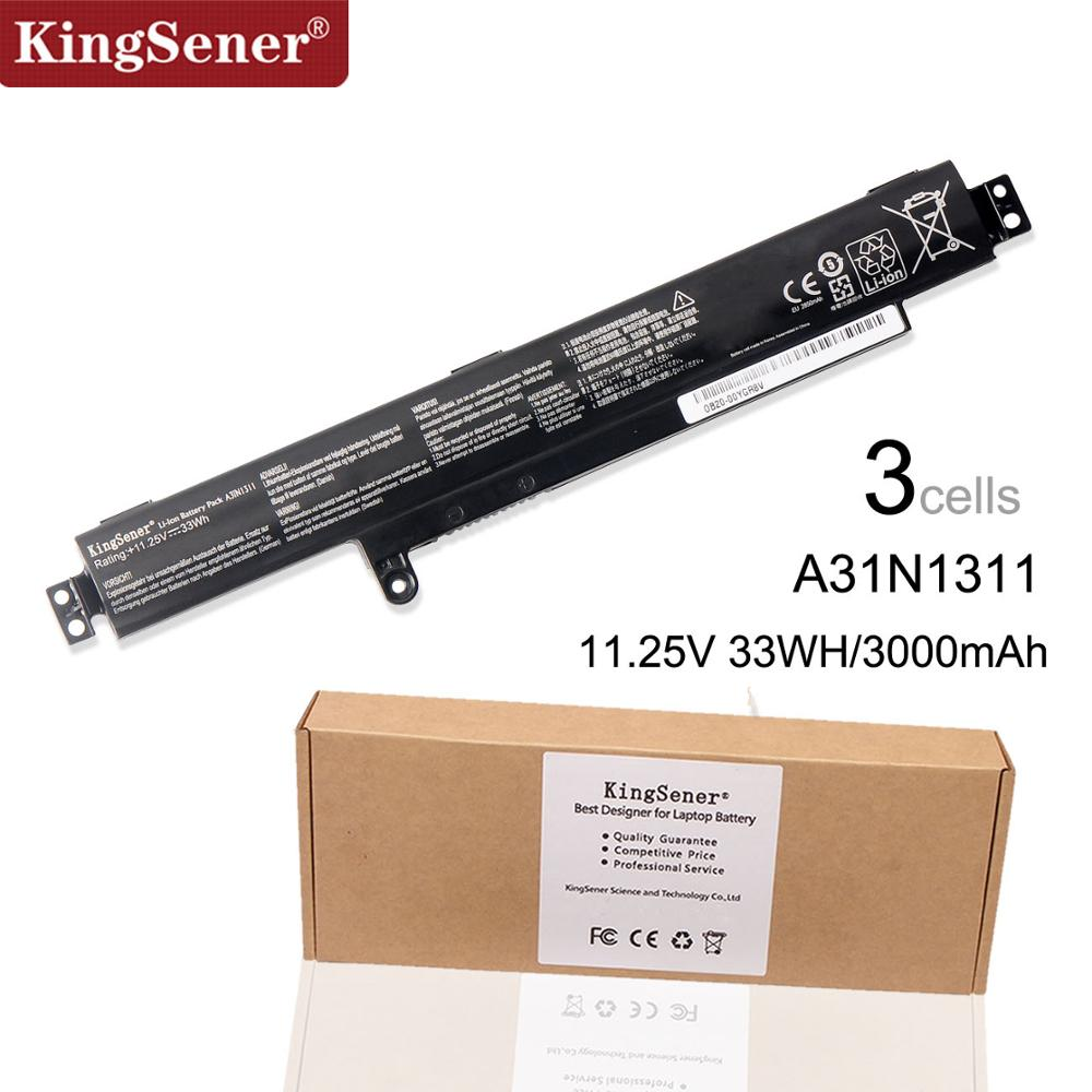 Bateri KingSener New A31N1311 Për ASUS VivoBook F102BA X102B X102BA-BH41T X102BA-DF1200 X102BA-HA41002F A31N1311 11.25V 33WH