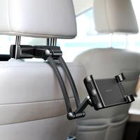 Car Headrest Mount Holder Universal For Kids With Angle Adjustable Holding Clamp For Phone Tablets Iphone Ipad Wholesale