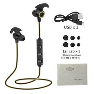 Image 5 - Bluetooth наушники вкладыши Беспроводные наушники с 5 часами работы от аккумулятора Спортивные Беспроводные наушники Bluetooth 4,1 для мобильного телефона