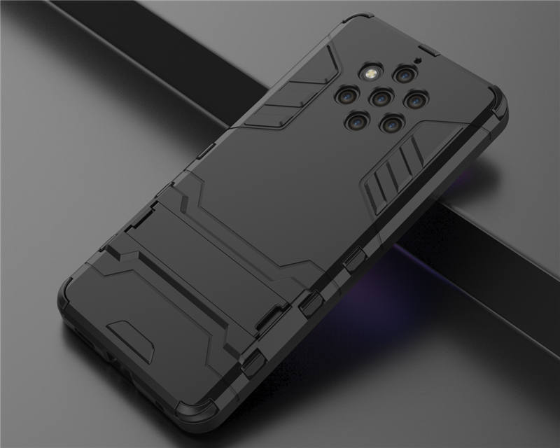 For Nokia 9 PureView Case Nokia9 PureView Case Hybrid Silicone + TPU Back Cover Phone Cases On Nokia 9 PureView TA-1094 TA 1094