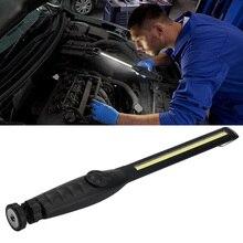 Car Work Lights Long USB Rechargeable COB LED Slim Repair Lighting for camping, car maintenance lighting, emergency Light Bar