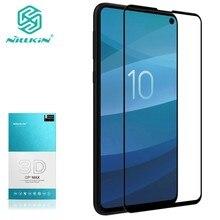 Protetor de Tela De Vidro temperado Para Samsung Galaxy S10e NILLKIN Surpreendente 3D CP + MAX 9 H Nano Anti Explosão vidro De proteção