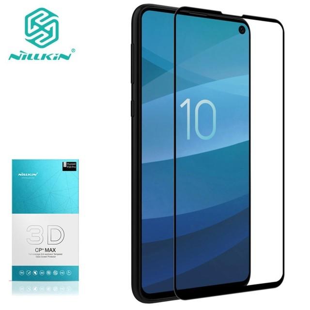 Tempered Glass Screen Protector For Samsung Galaxy S10e NILLKIN Amazing 3D CP+MAX Nano Anti Explosion 9H Protective Glass