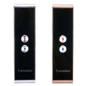 Image 3 - Traductor de voz multilingüe portátil, receptor de traducción inteligente con Bluetooth, traductor instantáneo bidireccional en tiempo Real