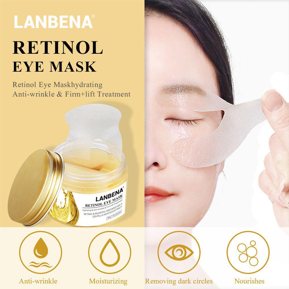 Cuidados com a Pele Olho 50 Pçs/caixa Ácido Hialurônico