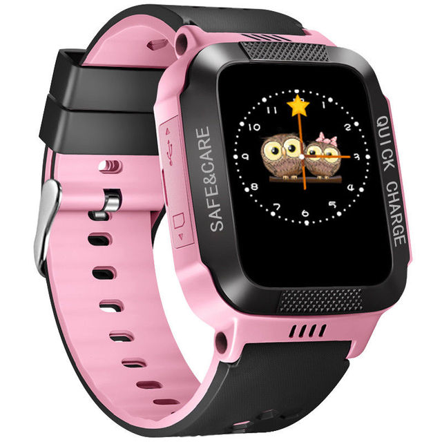Child Waterproof Smart Wristbands Anti-lost Safe LBS Tracker SOS Call Kids Smart Watch For Android iOS