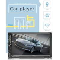 New Android 7.1 7 inch Touch Screen Car Bluetooth MP5 Player Car Two stand MP4/GPS Navigation Integrated Device Support Usb