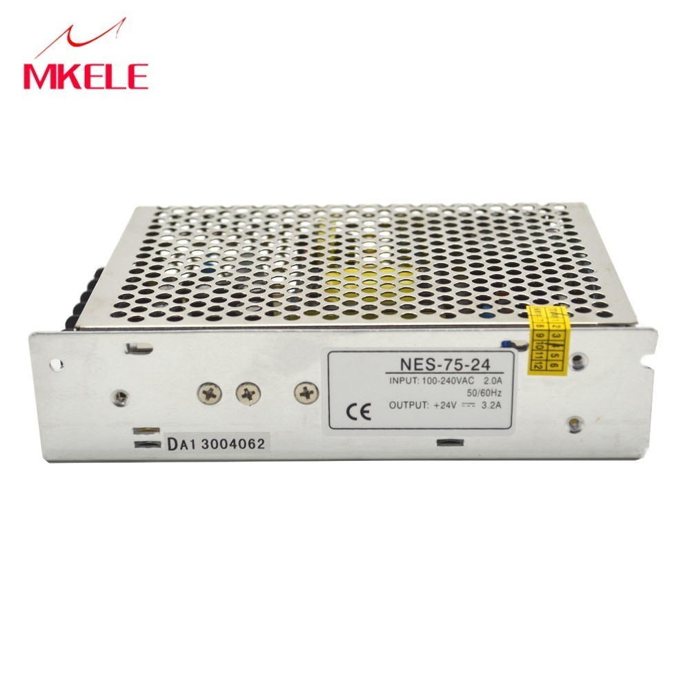 NES 75 12 12 volt power supply 12v switching power supply 75W 6.2A Single Output power supply 12v CB UL