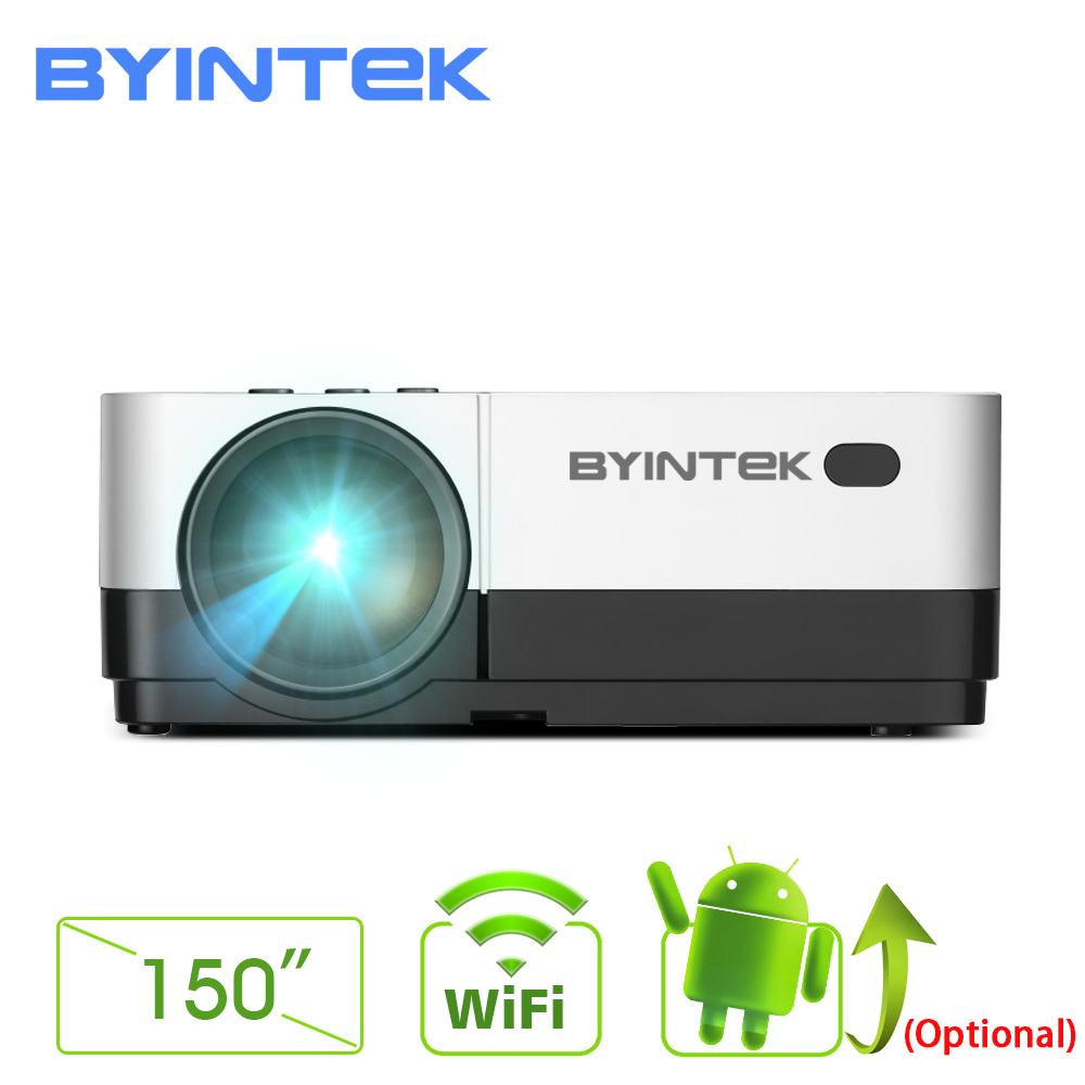 BYINTEK SKY K7 1280×720 LED Mini Micro Portable Video HD Projector with HDMI USB For Game Movie 1080P Cinema Home Theater