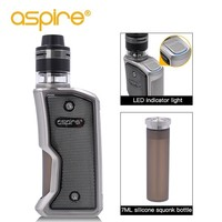 Original Electronic Cigarette Aspire Feedlink Revvo Vape Kit Squonk 80W Mod 2ml Revvo Tank ARC Coil E Cigarette Vaporizer Kit