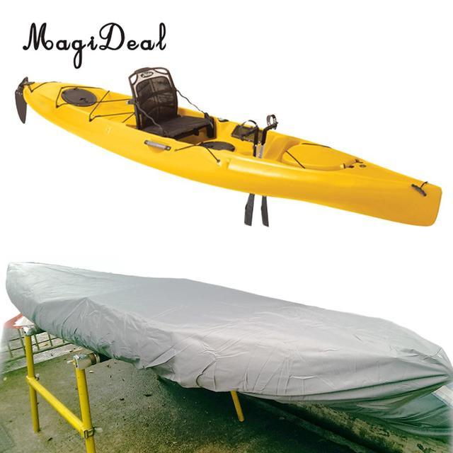 Wasserdicht UV Schutz Kajak Abdeckung Kajak Lagerung für Kanu Kajak Infalatable Fischerboot Schlauchboot Zubehör