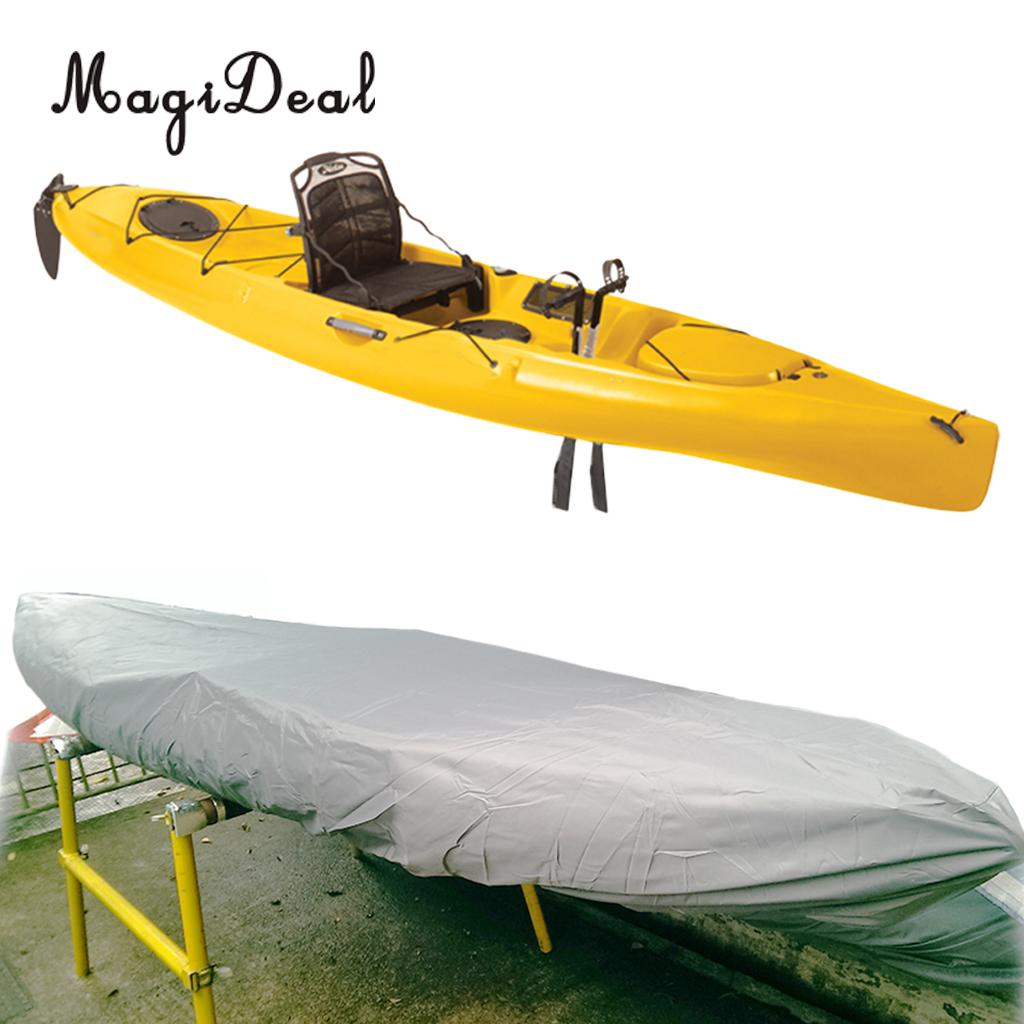 Waterproof UV Protection Kayak Cover Kayak Storage for Canoe Kayak Infalatable Fishing Boat Dinghy Accessories image