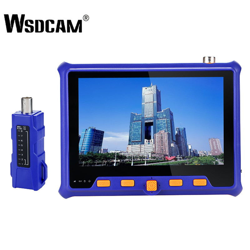"4in1 Tester Monitor TVI CVI AHD VGA CVBS Security CCTV Camera Test 5/"" HD 1080P"