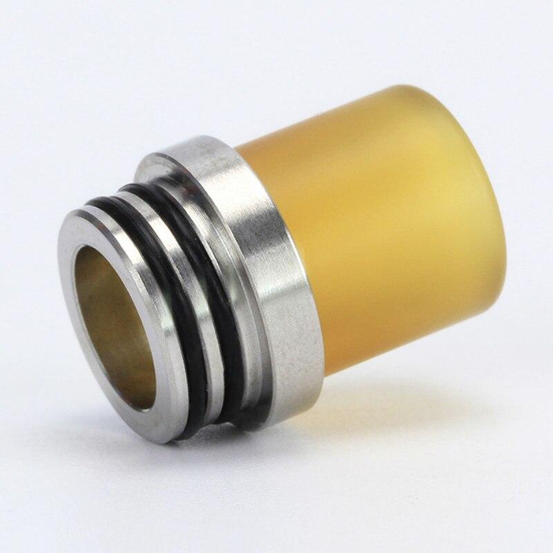 YUHETEC 1pc 810 To 510 Adapter Heat Sink 510 PEI Drip Tip For TFV8 TFV8 Big Baby Atomizer Convertor
