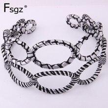 Fashion Hairband For Women Korean Brand Twist Striped Print Hair Bow Girls Zebra Printed Hairpin Accessories Lady