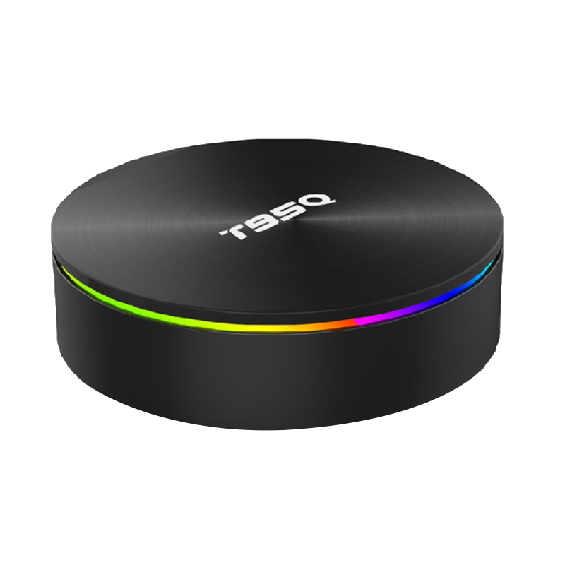 T95Q 4 Gb Tv Box Android 8.1 Lpddr4 Amlogic S905X2 Quad Core 2.4G & 5 Ghz double Wifi Bt4.1 1000 M H.265 4 K lecteur multimédia