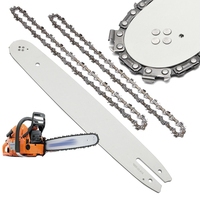 2x Chainsaw Chains & 14'' Guide Bar For Stihl Chainsaws 017 MS170 HT70 MSE160