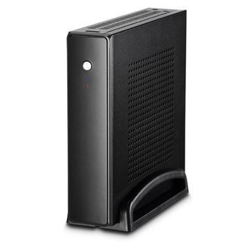 Thin Mini Itx Cases Usb2.0 2.5 Inch Hdd Ssd Sgcc Computer Gaming Pc Desktop Chassis Quiet For Motherboard Below 20 Mm