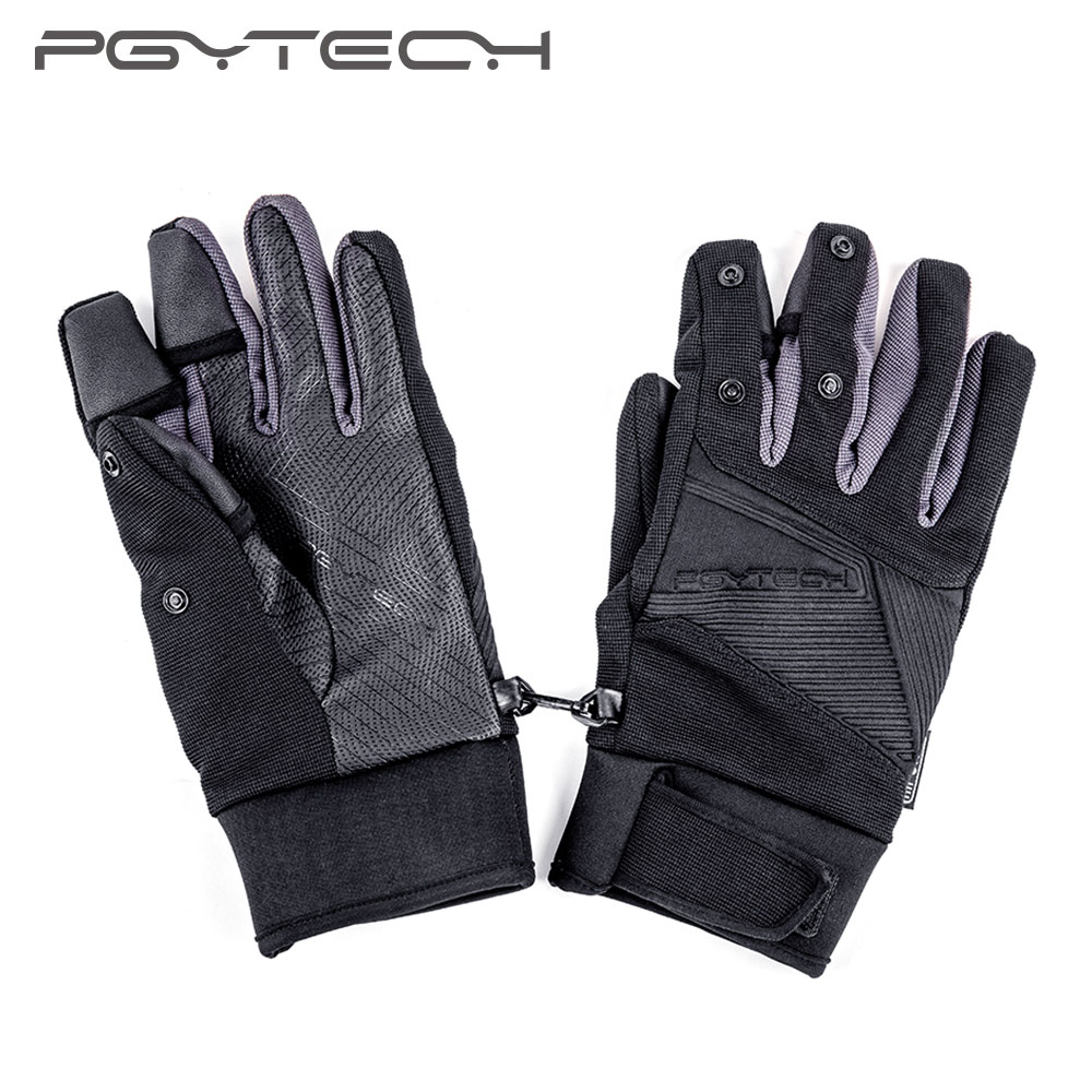 PGYTECH NEW Photography Gloves Outdoor Mountaineering Ski Riding Windproof Waterproof Touch Screen Multi function Flying Gloves