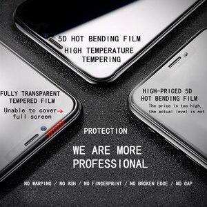 Image 3 - 5D スクリーンプロテクターガラス iphone 6 6x7 8 フルカバー強化ガラス 7 8 プラス XR XS 最大保護フィルム
