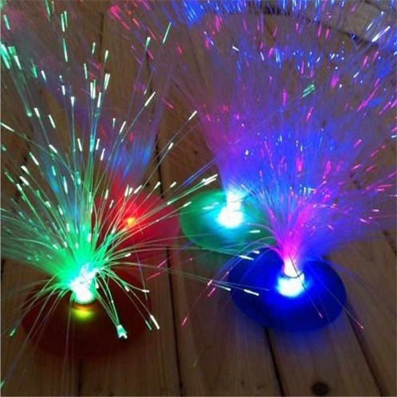 Светодиодный ночник для дома волоконно-оптический для ночного света лампы светодиодный красивые для романтических дропшиппинг