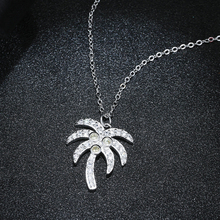 New Arrivals 925 Sterling Silver coconut tree  Necklaces & Pendants For Women Hot Fashion sterling-silver-jewelry