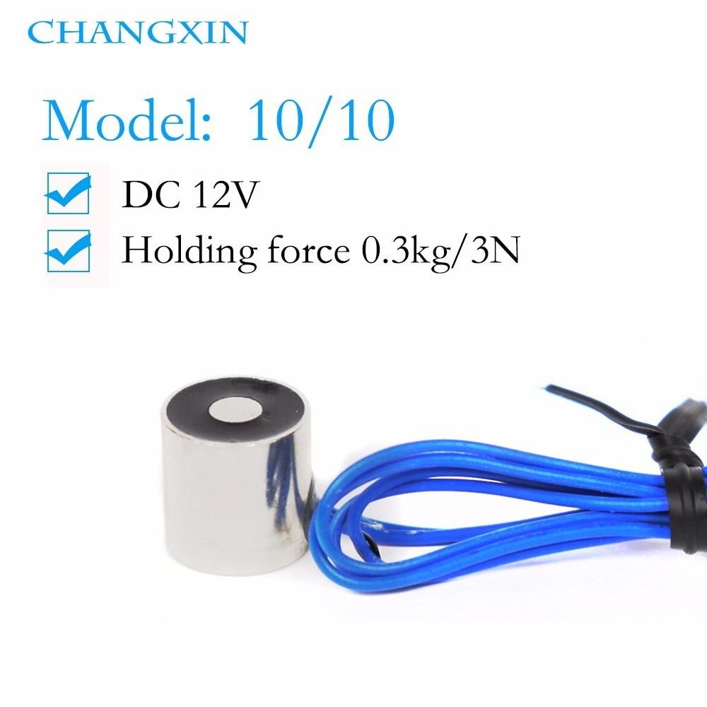 10*10mm Suction 0.3kg Dc 6v/12v/24v Mini Nano Solenoid Electromagnet Electric Lifting Electro high quality Magnet 10*10mm Suction 0.3kg Dc 6v/12v/24v Mini Nano Solenoid Electromagnet Electric Lifting Electro high quality Magnet
