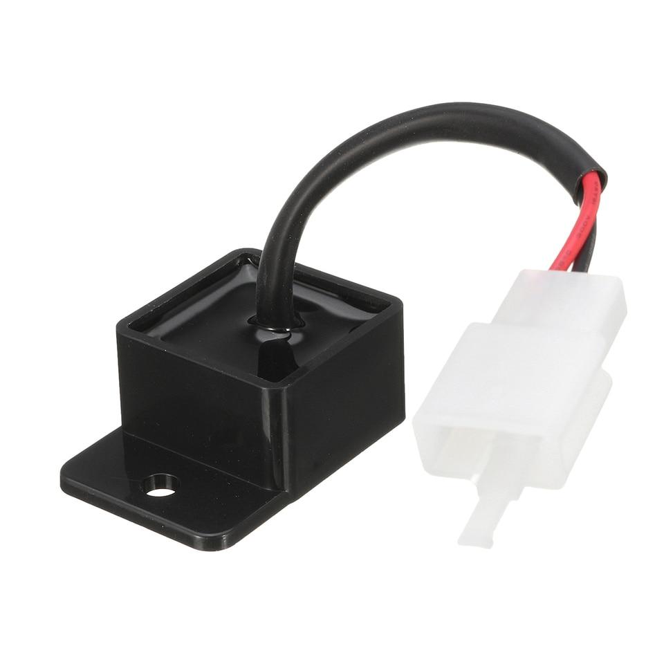 LED Blinker Relais Blinkgeber 12V 2 Pins//Pole für Honda VT 750 C VT 1100 Shadow