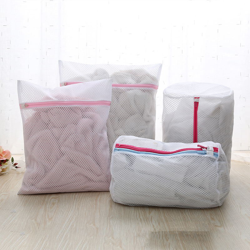 Clothes Washing Machine Laundry Bra Aid Lingerie Mesh Net Wash Bag Pouch Basket Femme 6 Sizes