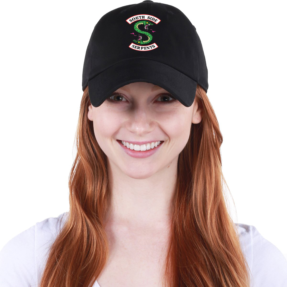 100% QualitäT Frauen Männer Mode Beiläufige Concise Riverdale Baseball Kappe Einstellbar Sommer Sonnenschirm Sport-laufende Hut Mesh Baseball Hut 100% Original