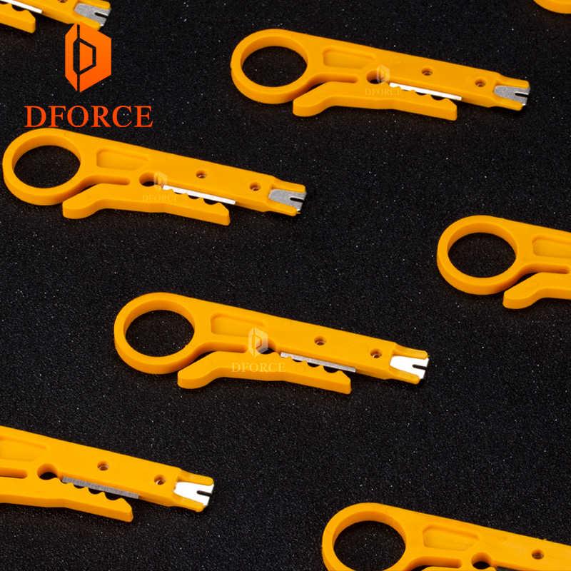DFORCE Мини Портативный нож для зачистки проводов PTFE Трубка Резак для 3d принтера тефлонто трубка hotend i3 mk8 экструдер набор инструментов
